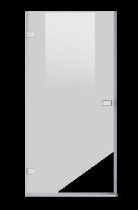Goccio 32-36_Shower door-Alcove-Pivot-Porte de douche-pivot