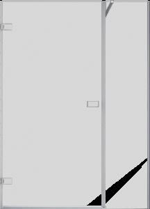 Goccio 42-48-60_Shower door-Alcove-Pivot-Porte de douche-pivot