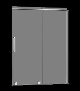 Quadro_Shower door-Alcove-sliding-Porte de douche-coulissante