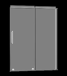 Slim_Shower door-Alcove-sliding-Porte de douche-coulissante