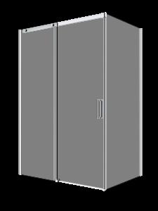 Vague_Shower door-corner angle-sliding-Porte de douche-coulissante