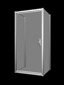 Xenia 32-36_Shower door-wall-Pivot-Porte de douche-pivot