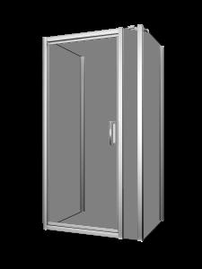 Xenia 42-48_Shower door-wall-Pivot-Porte de douche-pivot