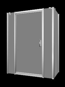 Xenia 48-60_Shower door-Corner-Pivot-Porte de douche-pivot