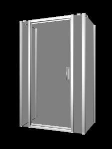 Xenia 48-60_Shower door-wall-Pivot-Porte de douche-pivot