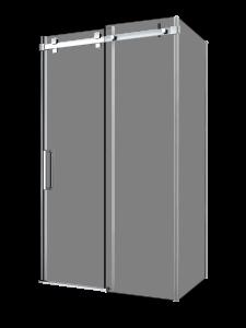 Piazza_Shower door-corner wall-sliding-Porte de douche-coulissante-coin